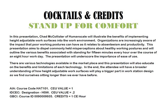 May 29th 2014 WTXCC  Cocktails & Credits